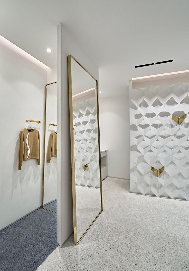URAStudio Creates Minimalist Clothing Boutique In Istanbul Retail Interior DesignDesign ConceptsDesign