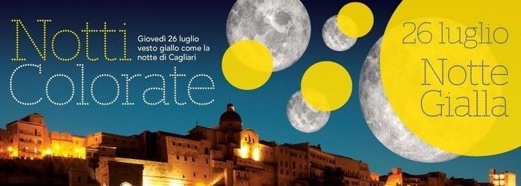 Notti colorate, il giallo al terzo appuntamento...stasera a Cagliari