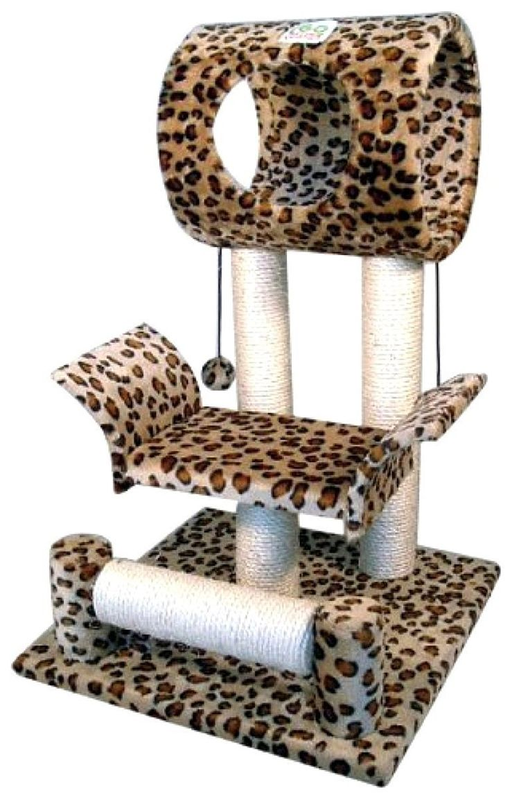 NEW! Cat Tree Club Tower Condo Furniture Scratch Play Post Kitty Pet House LEOPARD * See this great product. (This is an affiliate link and I receive a commission for the sales)