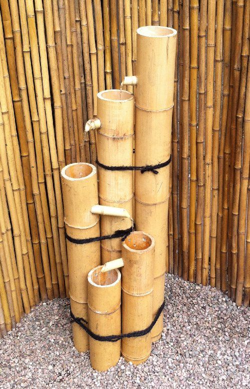 Bamboo Tower water feature