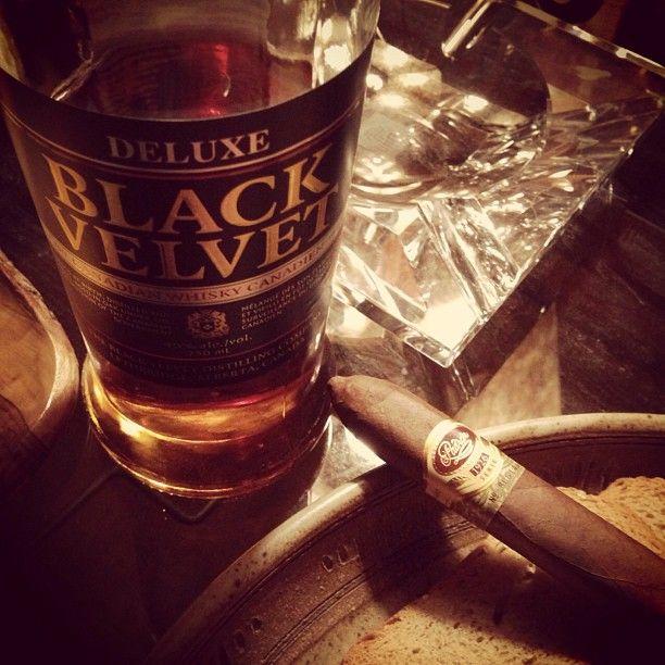 Pairing the Padron 1926 with Black Velvet Whiskey