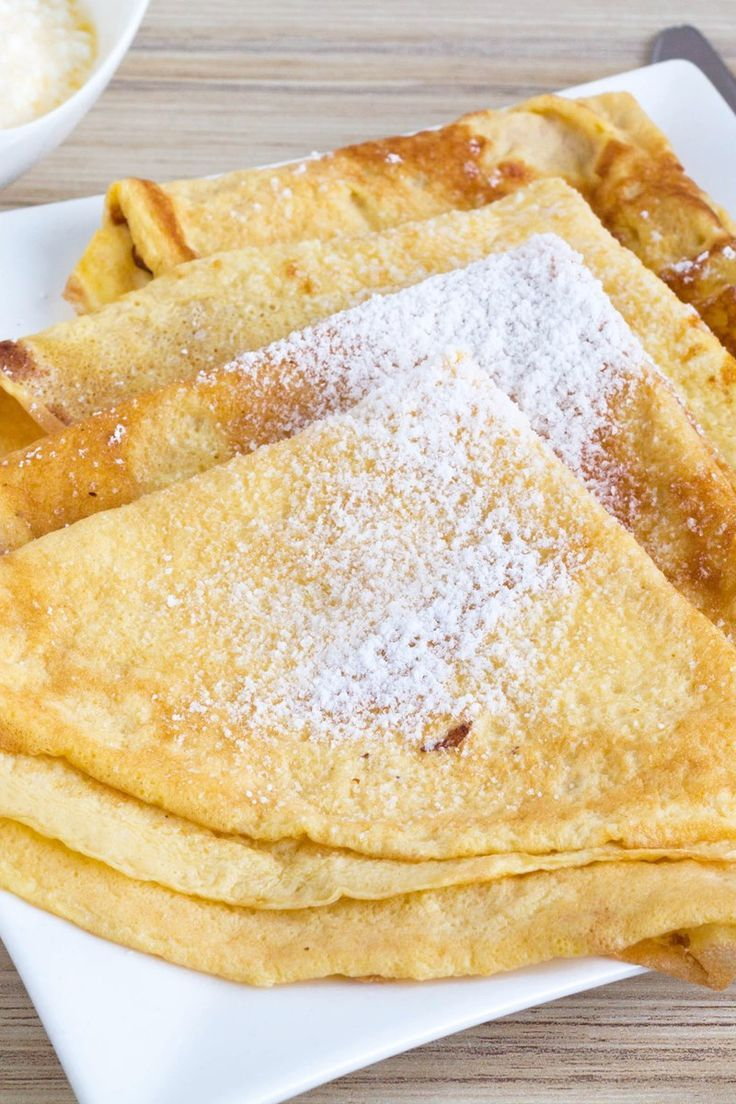 Easy Swedish Pancakes Breakfast Recipe With Eggs Milk Flour Sugar Salt And Butter Quick And Easy 20 Egg Recipes For Breakfast Breakfast Recipes Easy Food