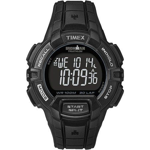 Montre sport numérique pour hommes Ironman de Timex (T5K793GP) - Noir