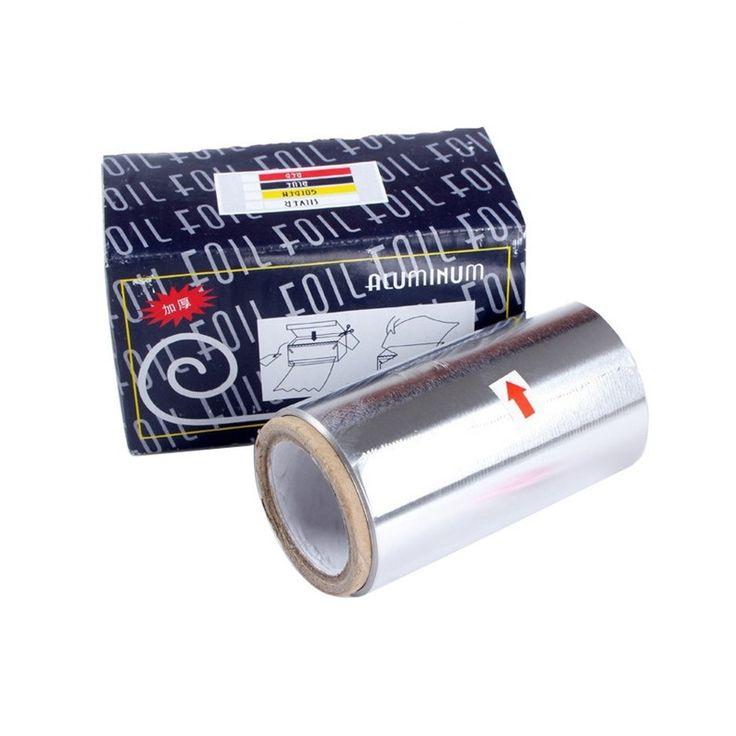 Wholesale10cm * 30 m perm pelo suministros de peluquería herramientas de pelo Para Teñir El Cabello de aluminio especial