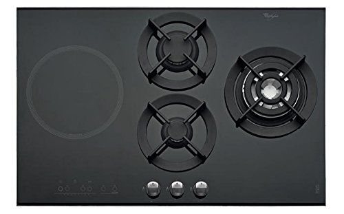 whirlpool akt 477 ix built in gas hob with 3 burners 4. Black Bedroom Furniture Sets. Home Design Ideas