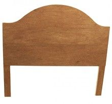 Queen size pre-cut headboard ready to upholster - choose your height! Free Shipping + Made in USA.
