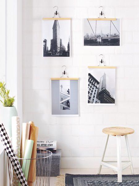 Fotowand selber machen - kreative Ideen