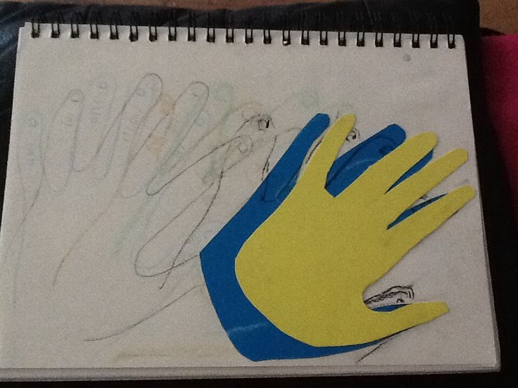"""This was my first attempt at task two which was """" focus on a single instance/object/ observation and represent it over and over in layers."""" This idea turned out terrible as it doesn't show different positions and movement of people's hands."""