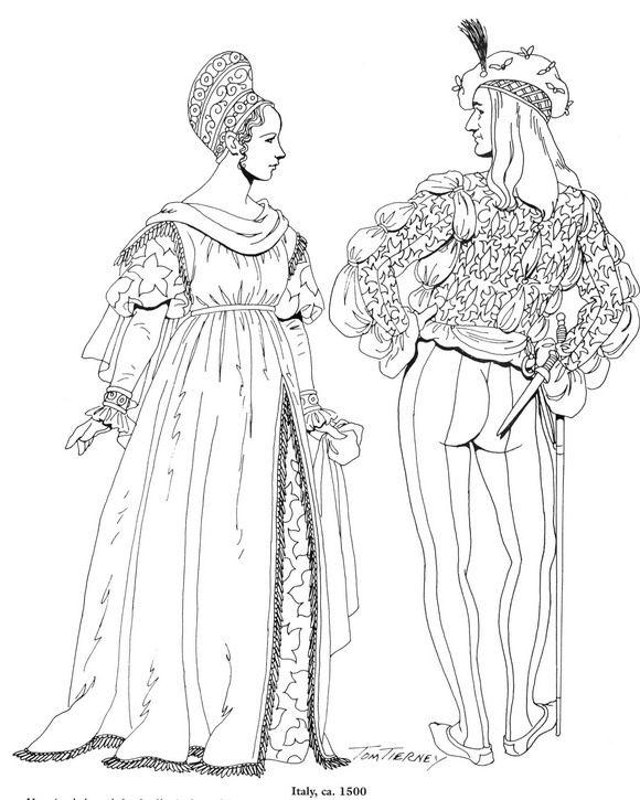 87 best 15.&16. Jahrhundert Mode images on Pinterest   Mittelalter ...