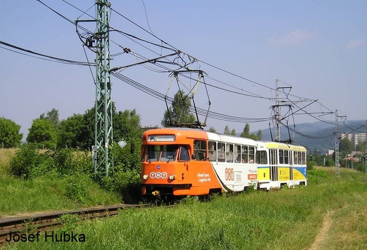 From Liberec (long ago) T2R 22+23 in PX!