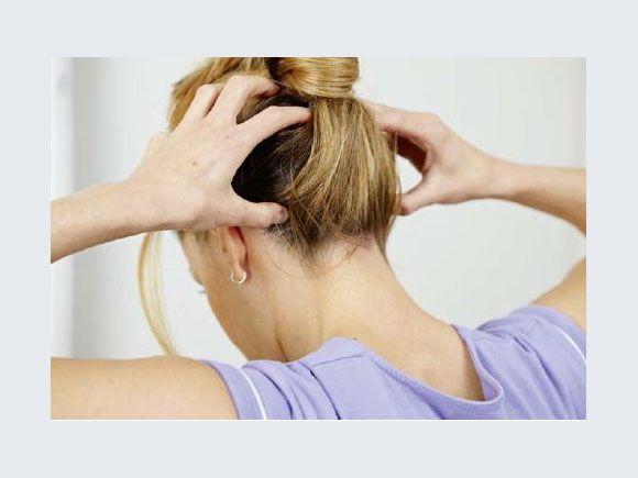 Entspannungsübungen für Kiefer, Nacken und Schultern