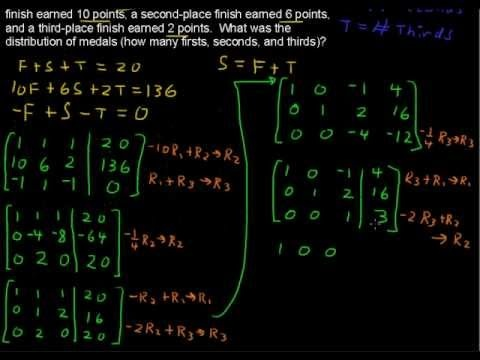 best algebra help videos images algebra help  solving applications using matrices