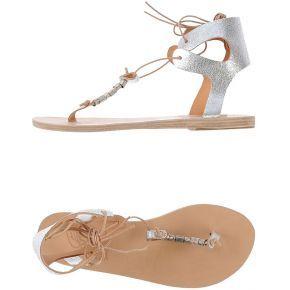 Tongs ancient greek sandals femme. argent. 36...