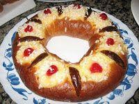 Rosca de Reyes - Postre Tipico Argentino - Argentina Recipes