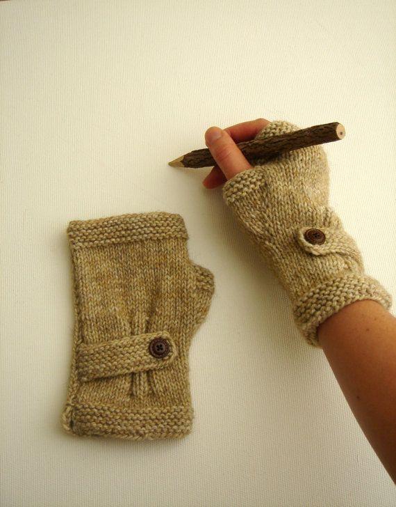 Autumn Finds/ Arm Warmer / Hand Knit Fingerless by gloveshop, $28.00