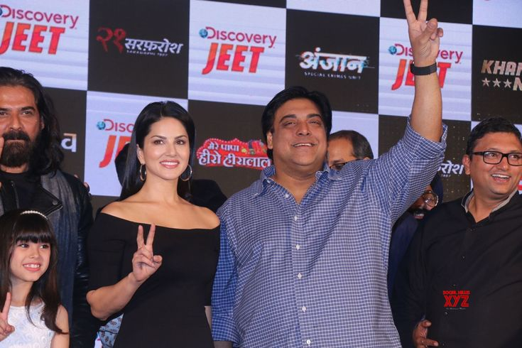Mumbai: Launch of Discovery JEET  Sunny Leone and Ram Kapoor - Social News XYZ