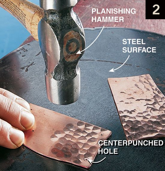 Hammer Your Own Craftsman Copper Hardware - Woodworking Projects - American Woodworker