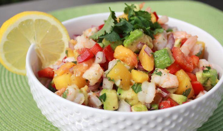 Trader Joe's Tropical Shrimp Salad Recipe - Whole 30 Approved and Paleo
