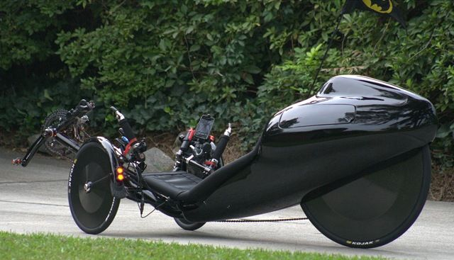 How To Get Ice Off Of Windshield >> Goblin, Batmobile-esque tail fairing | Recumbent Trikes ...
