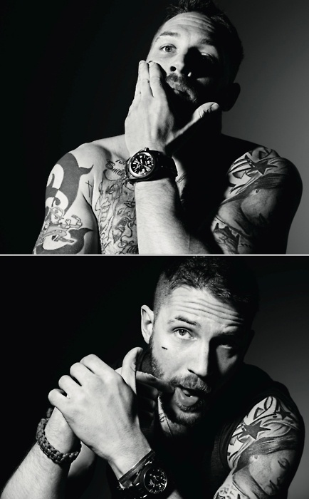 ❤ Tom Hardy ❤. You have tattoos and a beard? Excuse me while I take my clothes off! ;)