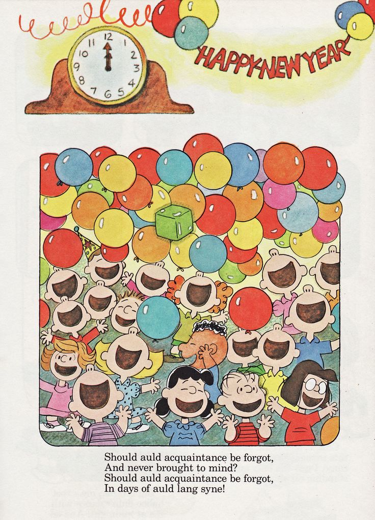 Happy New Year, Charlie Brown SNOOPY Pinterest Ano