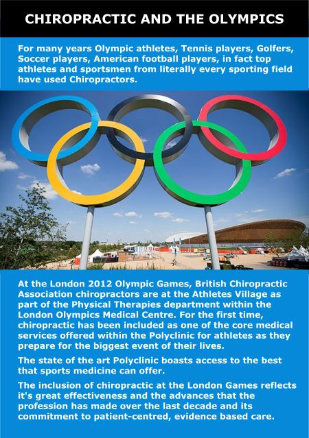 #chiropractic at the #olympics 2012