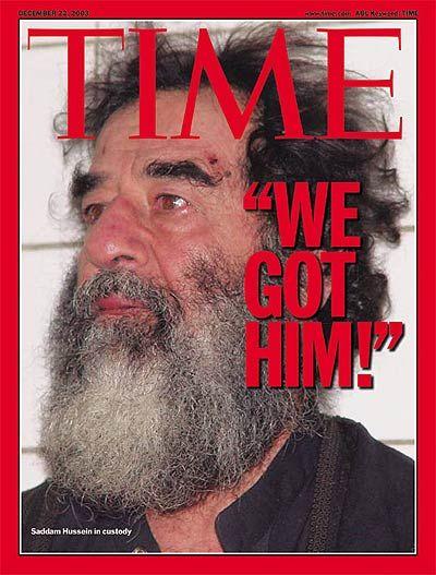 Dec 2006 - Saddam Hussein executed