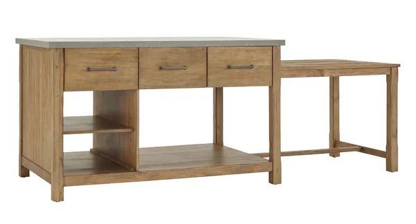 Brookford Kitchen Island In 2021 Kitchen Island Unique Kitchen Solid Wood