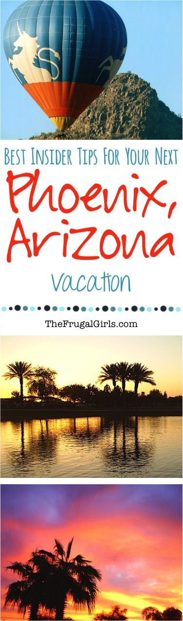 Best Things to See and Do in Phoenix, Arizona! ~ from TheFrugalGirls.com ~ you'll LOVE these fun insider travel tips and hidden gems for your next vacation to AZ! #vacations #thefrugalgirls