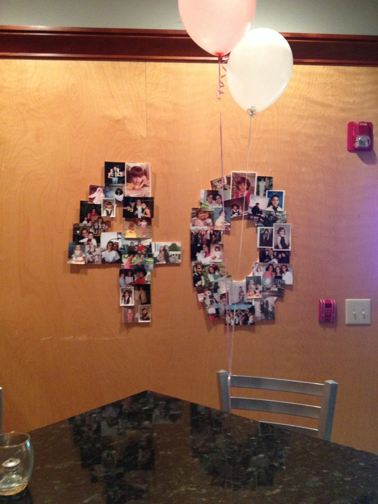 20 best 40th birthday ideas images on pinterest birthday for 40th birthday decoration ideas