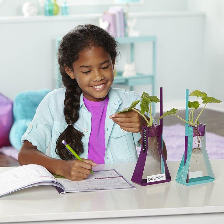 ★★★ 🅽🅴🆆 ★★★ Educational Insights Nancy B's Science Club Way to Grow Hydroponics Kit & Gardening Diary - $13.10 (Reg. $21.99):  This is so…