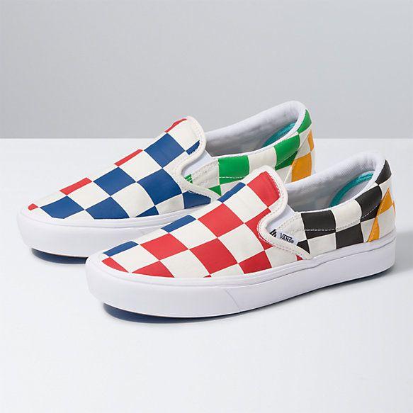 Vans, Slip on shoes, Slip on