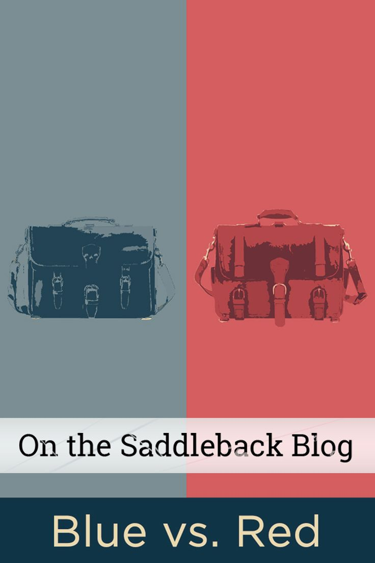 On the Saddleback Blog: Things are getting heated up at Saddleback HQ and we need your help! Come cast your vote for the Saddleback President of Bags.