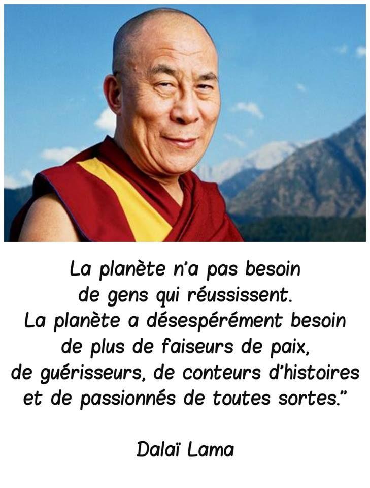 La théorie du tout: Dalaï Lama
