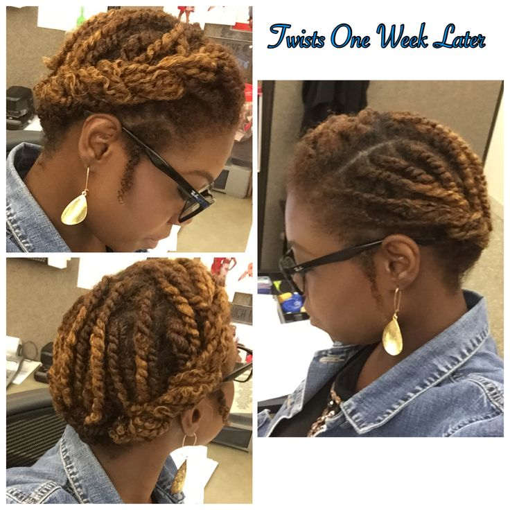 Two Strand Twists pin up