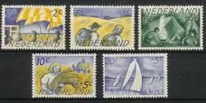 Zomerzegels Nederlands. 1948 by Paul Citroen