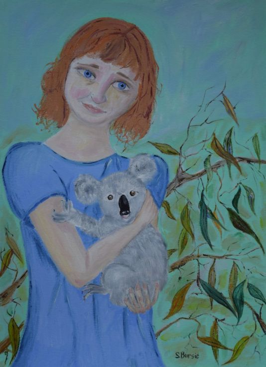 Buy Commission Portrait People & Pets, Oil painting by Sharyn Bursic on Artfinder. Discover thousands of other original paintings, prints, sculptures and photography from independent artists.