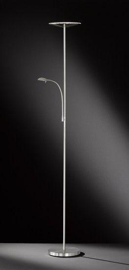 Stojací lampa LED WOFI ACTION WO 330902640000 (REGIS) | Uni-Svitidla.cz Moderní #stojací #lampa se stmívačem a paticí LED pro světelný zdroj #modern #lamp #floorlamp #lamps #stojacilampy #lampy #design #professional #shades #dimmable