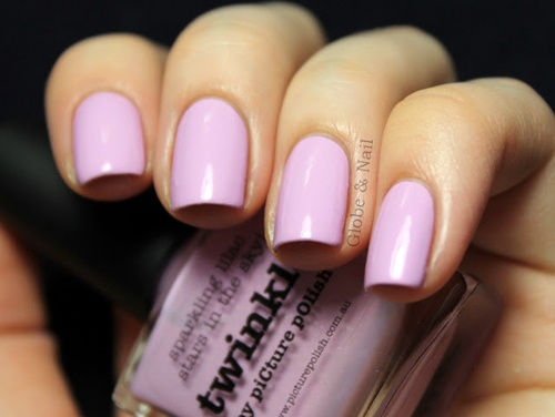 piCture pOlish Twinkle mani creation by Globe & Nail! So pretty and pastel!