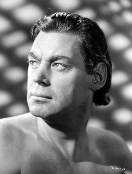 Gold-medalist-turned-actor Johnny Weissmuller.