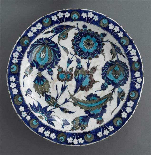 Şam işi  Osmanlı Çinisi