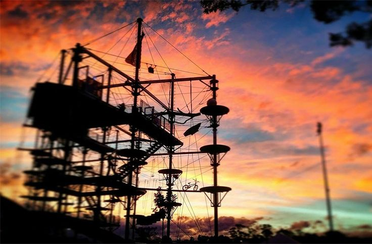 Extreme things to do in Sydney 9 degrees Skypeak Paniq room Axe throwing Penrith Water Park Trapeze school