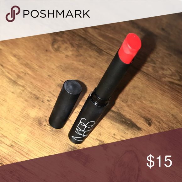 Nars pure matte lipstick Never used does not include box the perfect red color! Color is in 'Vesuvio' NARS Makeup Lipstick