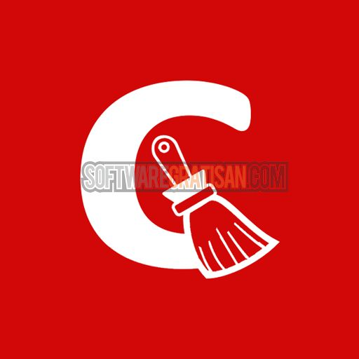 CCleaner Logo: download versi terbarunya di http://softwaregratisan.com/download-piriform-ccleaner-4-18-4844-professional-business-full-crack.html