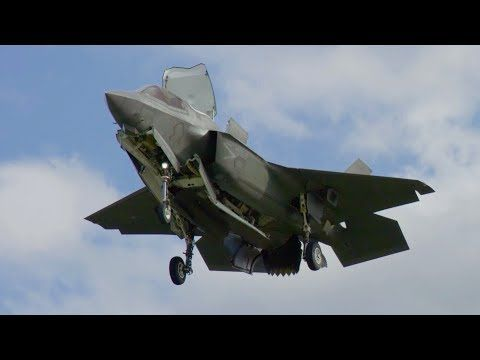 The F-35 Patuxent River Integrated Test Force team brings the U.S. Marine Corps' F-35B one step closer to initial operational test and evaluation as they wrap up testing of the F-35B STOVL envelope with sloped surface vertical landing tests.
