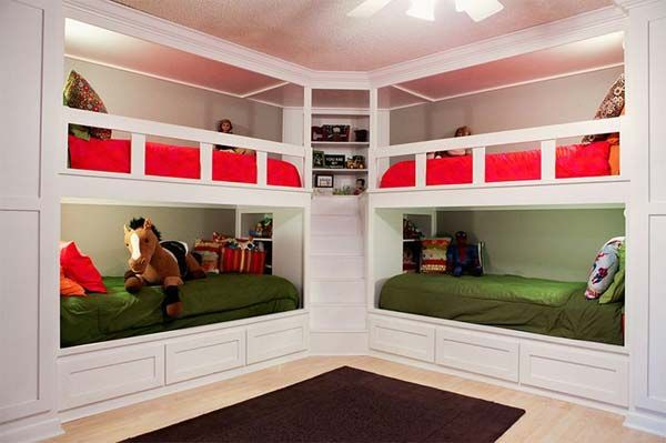 If you have two kids, a bunk bed can make them comfortable. But what if you have four kids? How can you deal with the space configurations to make the small room be spacious and tidy? The decor choices seem not easy especially your kids are of two genders and in different ages. Here we […]