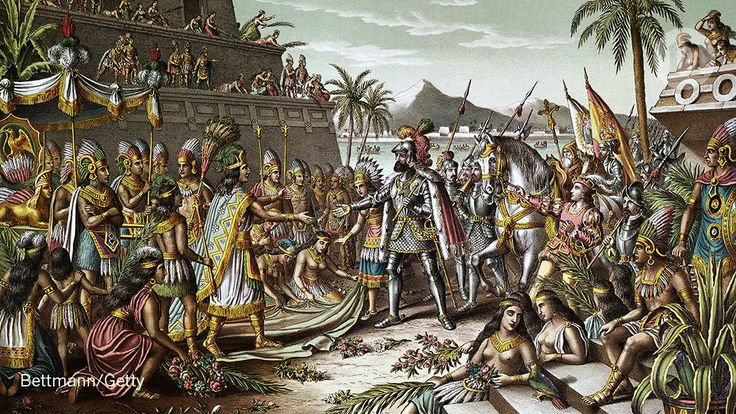 Collapse of Aztec society has been linked to a catastrophic salmonella outbreak: go.nature.com/2lS7KYr