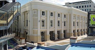 The Wellington Town Hall, Wellington, New Zealand - Award winning restoration project completed in 1992 - Opus Architecture