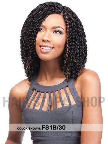 Sensationnel Spring Curl Bulk 24inches Crochet Braids