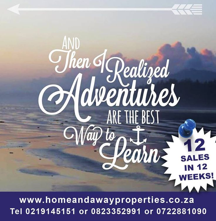 It is our busy time of the year, should you consider selling your property, we have a HIGH demand for properties in Kenridge and surrounding areas!  www.homeandawayproperties.co.za